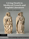 Living Death in Medieval French and English Literature (eBook)