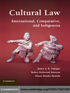 Cultural Law (eBook)
