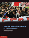 Welfare and Party Politics in Latin America (eBook)