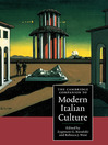 The Cambridge Companion to Modern Italian Culture (eBook)