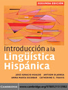 Introduccion a la Linguistica Hispanica (eBook)