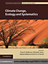 Climate Change, Ecology and Systematics (eBook)
