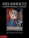 Helmholtz and the Modern Listener (eBook)