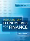 Introductory Econometrics for Finance (eBook)