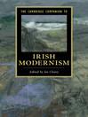 The Cambridge Companion to Irish Modernism (eBook)