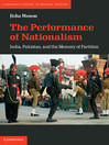 The Performance of Nationalism (eBook)