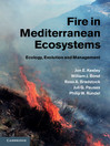 Fire in Mediterranean Ecosystems (eBook): Ecology, Evolution and Management
