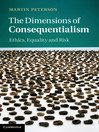 The Dimensions of Consequentialism (eBook)
