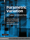 Parametric Variation (eBook): Null Subjects in Minimalist Theory