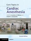 Core Topics in Cardiac Anaesthesia (eBook)