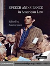 Speech and Silence in American Law (eBook)