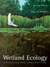 Wetland Ecology (eBook)
