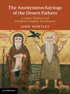The Anonymous Sayings of the Desert Fathers (eBook)