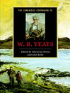 The Cambridge Companion to W. B. Yeats (eBook)