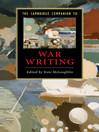 The Cambridge Companion to War Writing (eBook)