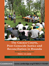 The Gacaca Courts, Post-Genocide Justice and Reconciliation in Rwanda (eBook): Justice without Lawyers