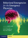Behavioral Emergencies for the Emergency Physician (eBook)
