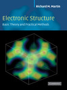 Electronic Structure (eBook)