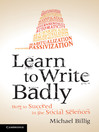 Learn to Write Badly (eBook)