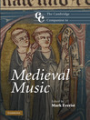 The Cambridge Companion to Medieval Music (eBook)