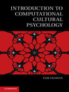 Introduction to Computational Cultural Psychology (eBook)