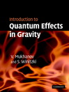 Introduction to Quantum Effects in Gravity (eBook)