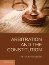 Arbitration and the Constitution (eBook)