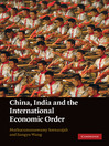China, India and the International Economic Order (eBook)
