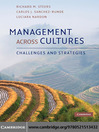 Management Across Cultures (eBook): Challenges and Strategies