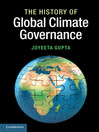 The History of Global Climate Governance (eBook)