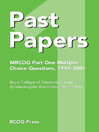 Past Papers MRCOG Part One Multiple Choice Questions (eBook): 1997-2001