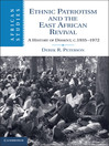 Ethnic Patriotism and the East African Revival (eBook): African Studies Series, Book 122
