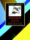 The Cambridge Companion to Primo Levi (eBook)
