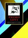 The Cambridge Companion to Primo Levi (eBook)