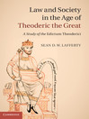 Law and Society in the Age of Theoderic the Great (eBook)