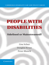 People with Disabilities  1 by Lisa Schur eBook