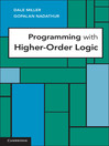 Programming with Higher-Order Logic (eBook)