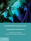 Commercial Contract Law (eBook)