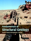 Fundamentals of Structural Geology (eBook)