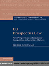 EU Prospectus Law (eBook): New Perspectives on Regulatory Competition in Securities Markets