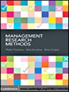 Management Research Methods (eBook)