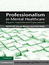 Professionalism in Mental Healthcare (eBook)