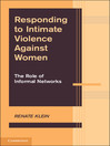 Responding to Intimate Violence Against Women (eBook)
