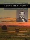 The Cambridge Companion to Abraham Lincoln (eBook)