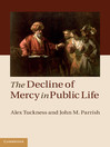 The Decline of Mercy in Public Life (eBook)