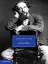Dickens's Style (eBook)