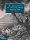 The Late Poetry of the Lake Poets (eBook): Romanticism Revised