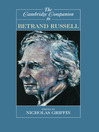 The Cambridge Companion to Bertrand Russell (eBook)
