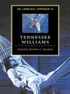 The Cambridge Companion to Tennessee Williams (eBook)