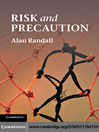Risk and Precaution (eBook)